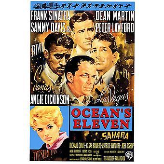 Oceans 11 Movie Poster (11 x 17)