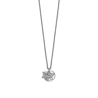 ESPRIT women's chain necklace silver BRILLIANCE STAR ESNL92273B420