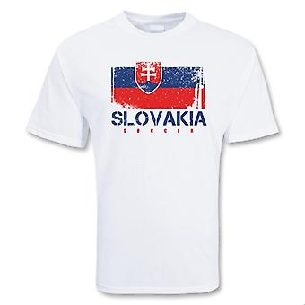 Slovakia Soccer t-skjorte
