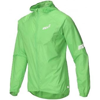 AT/C Windshell Full Zip Mens Running Jacket Green