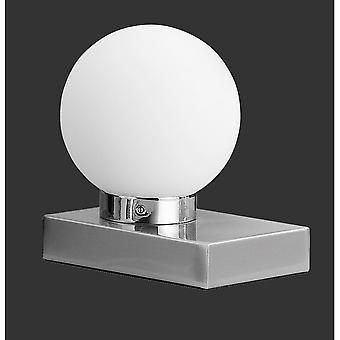 Trio belysning Davi moderne nikkel Matt Metal bordlampe