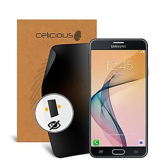 Celicious Privacy 2-Way Visual Black Out Screen Protector for Samsung Galaxy J7 Prime