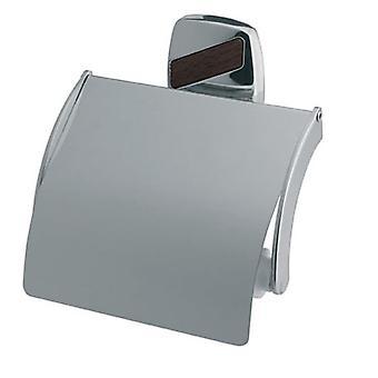 Toilet Paper Rack WC Roll Holder Modern Bathroom Chromed Zamak Wall Mounted