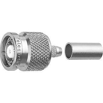 TNC reverse polarity connector Plug, straight 50 Ω Telegärtner J01010R0005 1 pc(s)