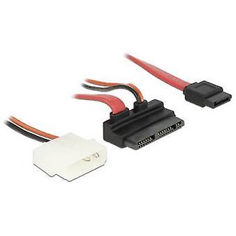 Hard drives Cable [1x Micro SATA combo plug 9+7 pin - 1x SATA socket 7-pin, IDE power plug 4