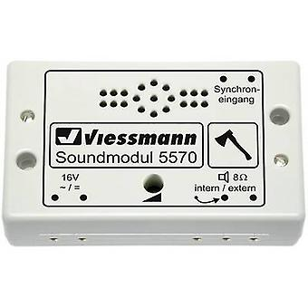 Sound effect Chopping wood Prefab component Viessmann 5570