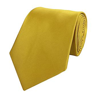 Zawiązać krawat krawat krawat 8cm żółte złoto uni Fabio Farini