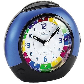 colorful alarm clock kids kids alarm clock quartz blue creeping second light function