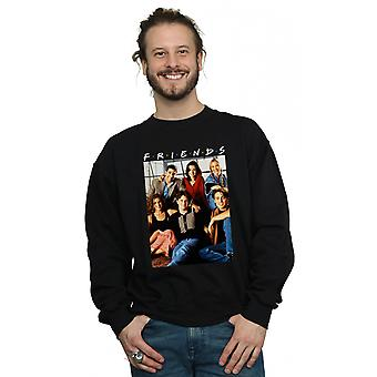 Friends Men's Group Photo Window Sweatshirt