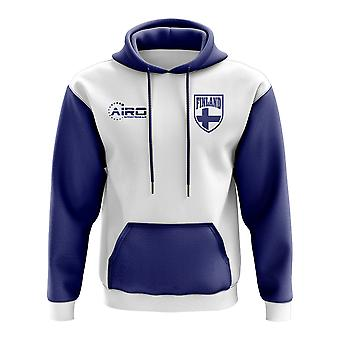 Finland Concept Country Football Hoody (White)
