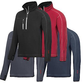 Snickers Workwear A.I.S. ½  Zip Fleece Sweatshirt (Superior Insulation) - 8013