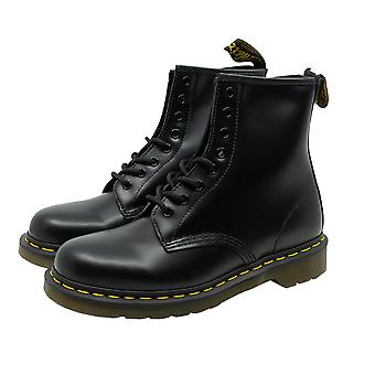 Dr. Martens 1460 8 EYE BOOT - SMOOTH 59 LAST gentlemen Stiefel black green leather