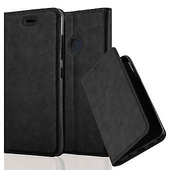 Cadorabo Hülle für HTC DESIRE 10 PRO - Handyhülle mit Magnetverschluss, Standfunktion und Kartenfach - Case Cover Schutzhülle Etui Tasche Book Klapp Style