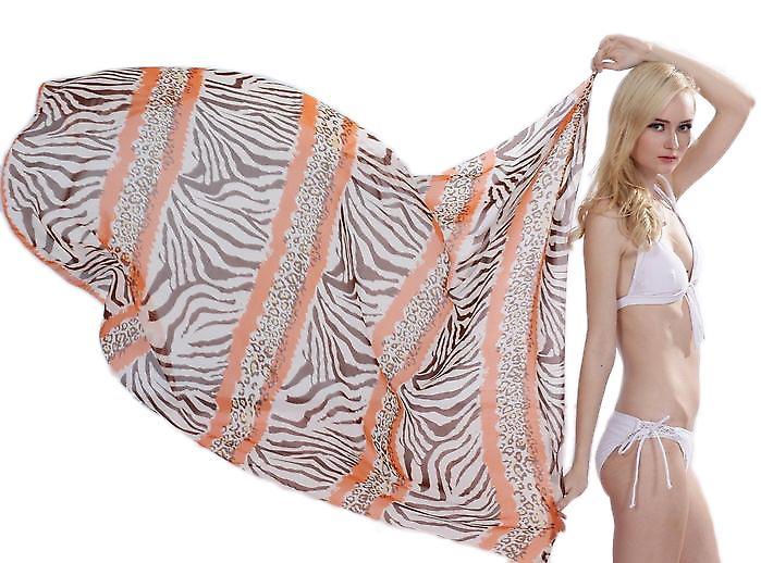 Waooh - Fashion - Sarong zebra mønster «Callie»