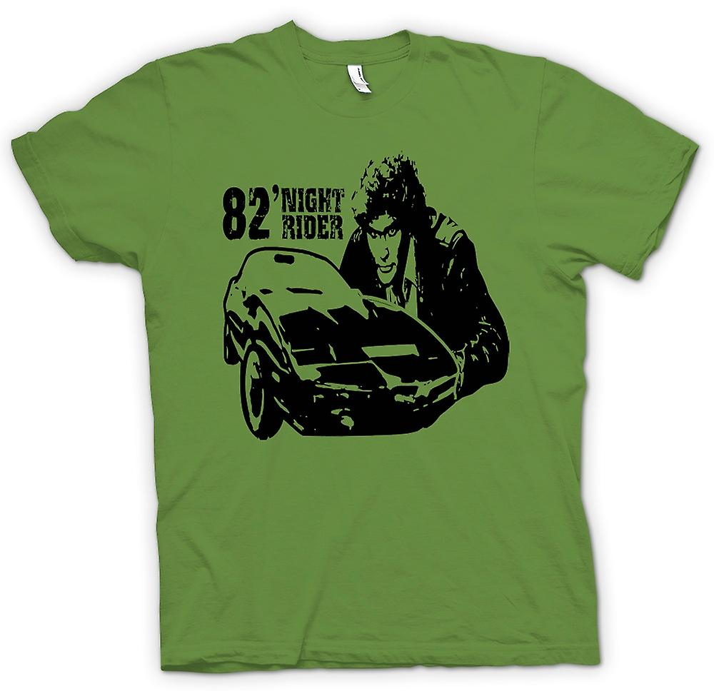 Camiseta para hombre - Knight Rider 82 - Trans Am - Retro