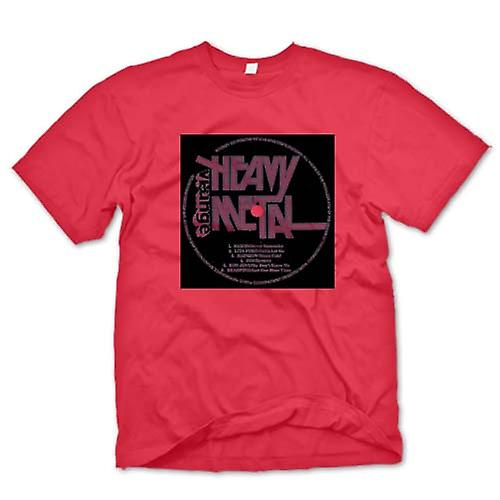 Mens t-shirt - Heavy Metal - vinile stampa