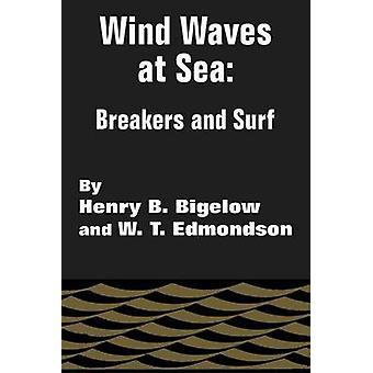 Vind vågor på havet brytare och Surf av Bigelow & Henry B.