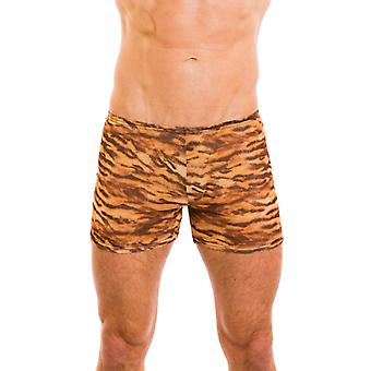 Kiniki Sara Tan Through Swim Shorts Mens Swimwear