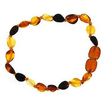 The Olivia Collection Genuine Baltic Amber 6 Inch Bracelet