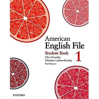 American English File Level 1: Student Book
