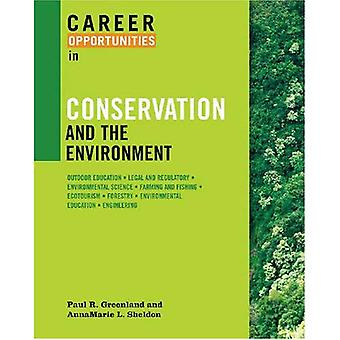 Career Opportunities in Conservation and the Environment (Career Opportunities) (Career Opportunities (Paperback))