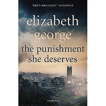 The Punishment She Deserves: An Inspector Lynley Novel: 17 (Inspector� Lynley)