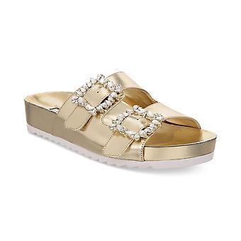 INC International Concepts Womens Alani Open Toe Casual Slide Sandals