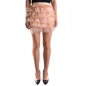 Elisabetta Franchi rosa Nylon kjol