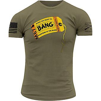 Grunt Style Bang! T-Shirt - Olive