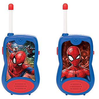 Lexibook Spiderman Walkie-Talkies blå/rød (Model nr. TW12SP)