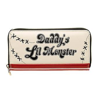 Suicide Squad Daddy's Lil Monster Zip Around Purse