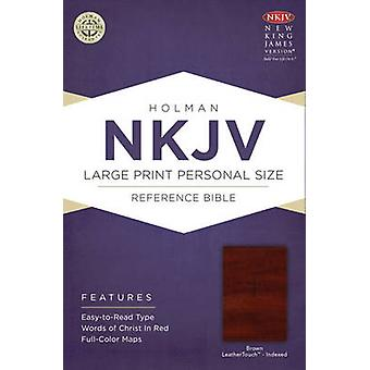 Large Print Personal Size Reference Bible-NKJV (large type edition) b