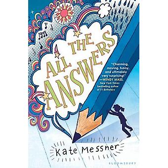 All the Answers by Kate Messner - 9781619633742 Book