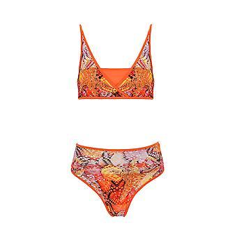 Paramidonna Miss Sea Soul Orange Nylon Bikini