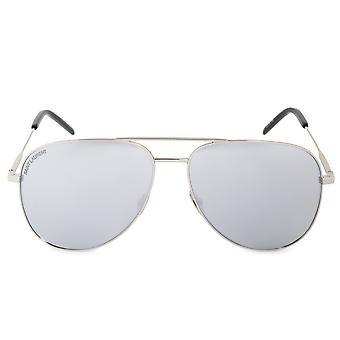 Saint Laurent CLASSIC 11 011 59 Aviator Sunglasses