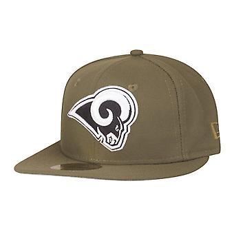New Era 59Fifty Kinder Cap - NFL Los Angeles Rams oliv