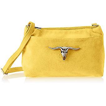 Chicca Bags 8650 Women's shoulder bag Yellow 29x17x8 cm (W x H x L)