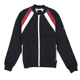 Givenchy spalla a strisce Bomber Giacca Nero