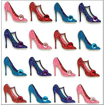 Jolee's Mini Repeats Stickers Pumps E20757