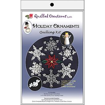 Quilling Kit Holiday ornements 417