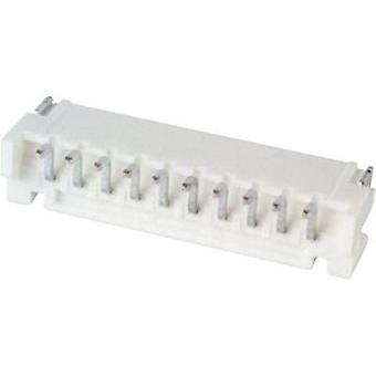 Built-in pin strip (standard) PH Total number of pins 10 JST S10B-PH-SM4-TB (LF)(SN) Contact spacing: 2 mm 1 pc(s)