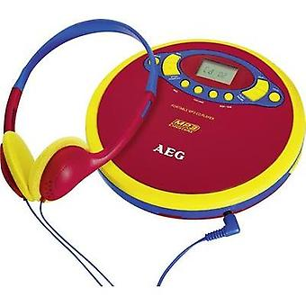 Portable CD player AEG CDP 4228 Kids Line CD, CD-R, CD-RW, MP3