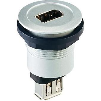 Schlegel RRJ_FW6_STB Socket, build-in Silver