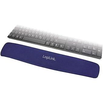 Gel wrist support mat LogiLink Keyboard gel palm rest Blue