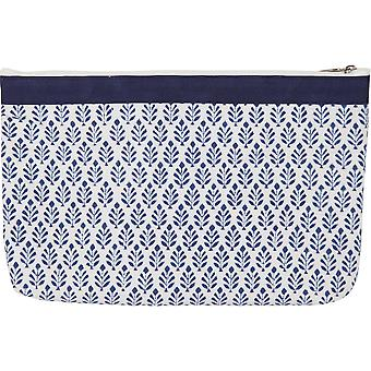 Reverie Full Fabric Zipper Pouch-Large KP810053