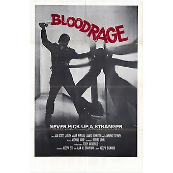 Bloodrage Movie Poster (11 x 17)