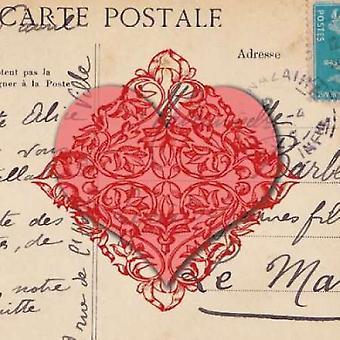 Le C Ihre dAmour ich Poster Print von Sabine Berg
