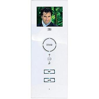 Video door intercom Corded Indoor panel m-e modern-electronics VDV-503 WW Detached White