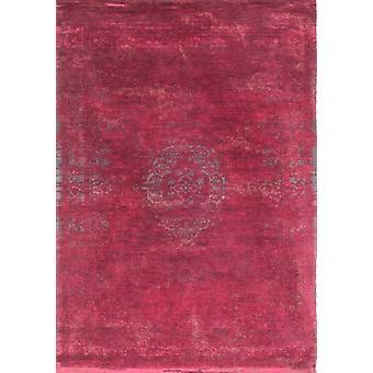 Moderne Scarlet rød Medalion tæppe - Louis De Poortere
