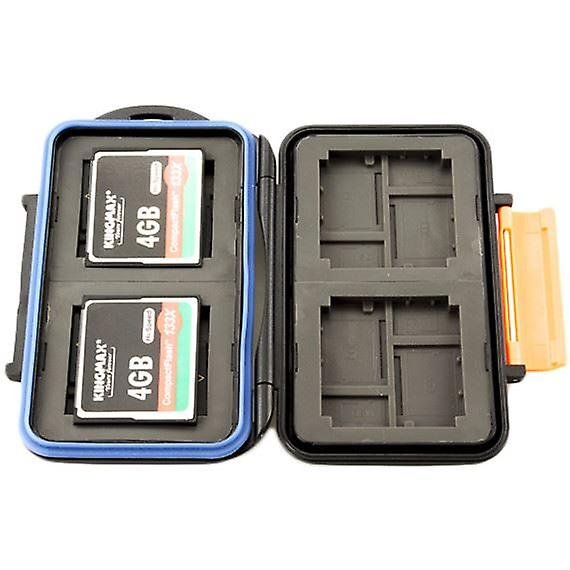 JJC Water Resistant Memory Card Case for 4 x CompactFlash or 8 x microSD, microSDHC, microSDXC and 4 x xD-Picture cards